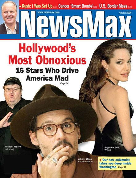 Newsmax Magazine Cover - 8/1/2006