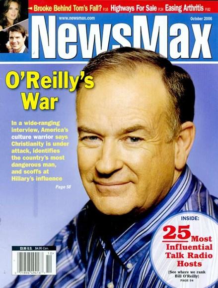 Newsmax Magazine Cover - 10/1/2006