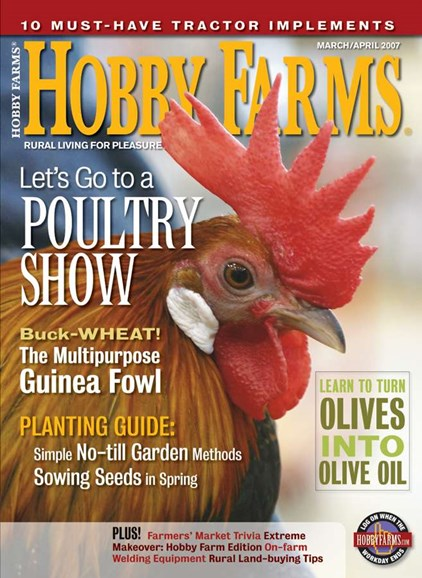 Hobby Farms Cover - 3/1/2007