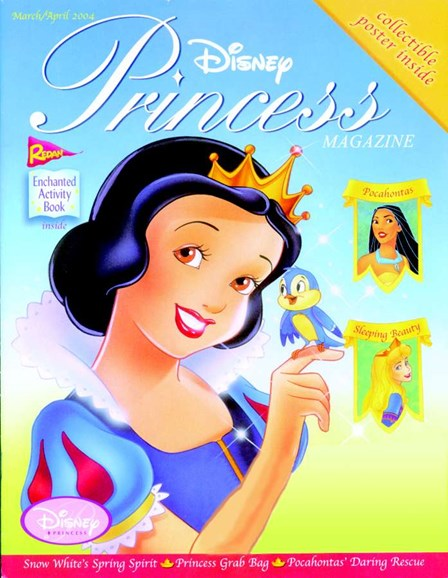 Disney Princess Cover - 3/1/2004