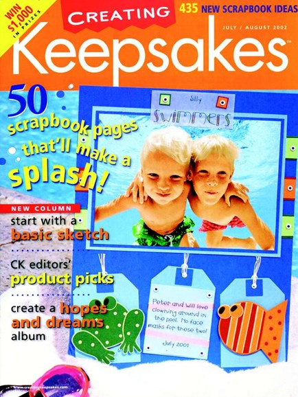 Creating Keepsakes Cover - 8/1/2002