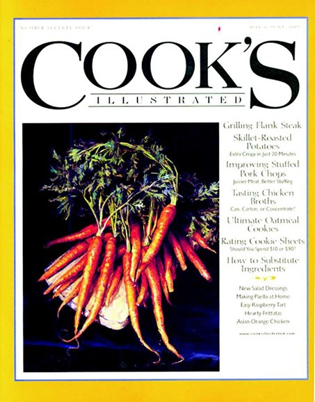 Cook's Illustrated Cover - 6/1/2005