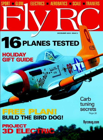 Fly RC Cover - 12/1/2003