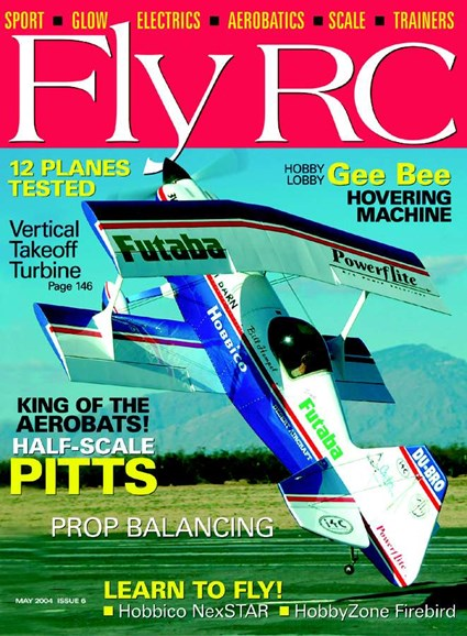 Fly RC Cover - 5/1/2004