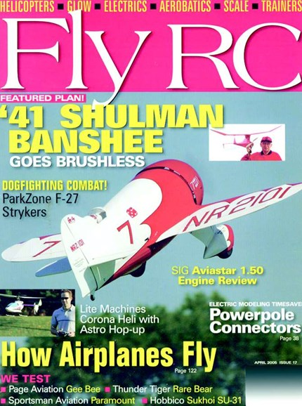 Fly RC Cover - 4/1/2005