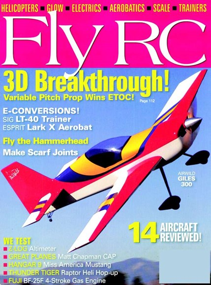 Fly RC Cover - 7/1/2005