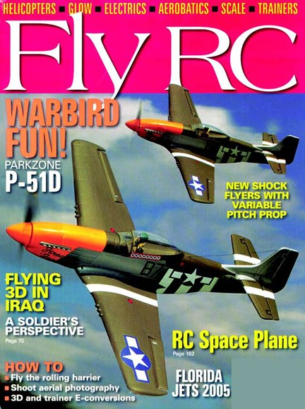 Fly RC Cover - 8/1/2005