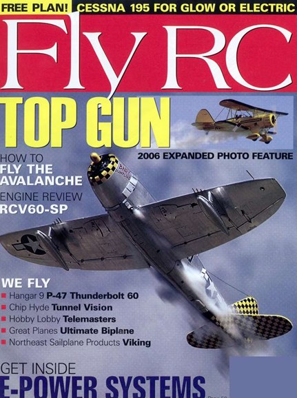 Fly RC Cover - 8/1/2006