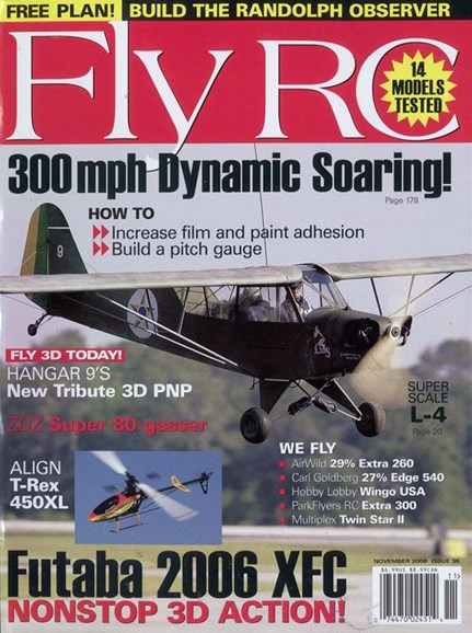 Fly RC Cover - 11/1/2006