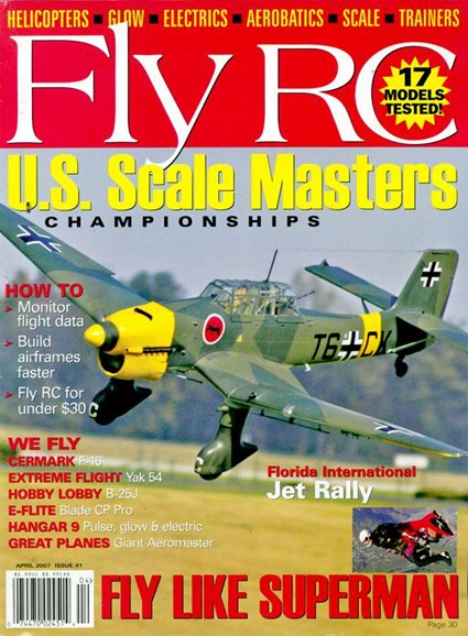 Fly RC Cover - 4/1/2007