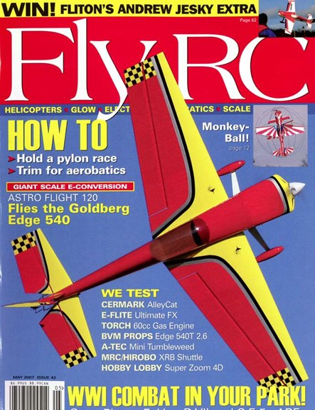 Fly RC Cover - 5/1/2007