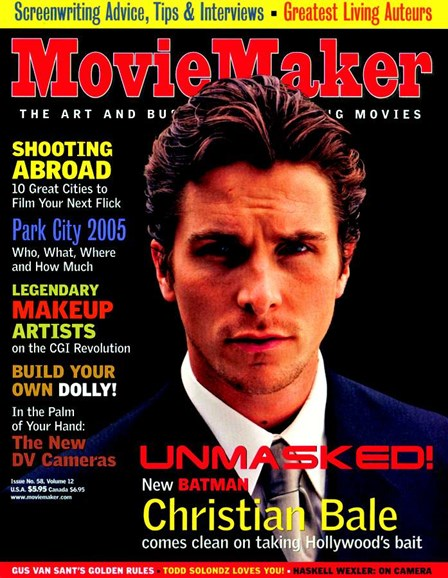 Moviemaker Magazine Cover - 4/1/2005