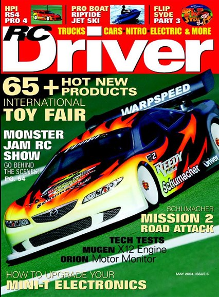 RC Driver Cover - 5/1/2004