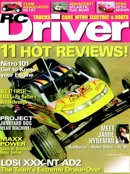 RC Driver Cover - 4/1/2005