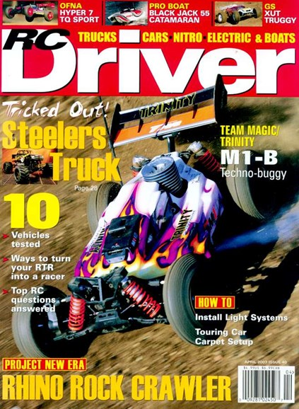 RC Driver Cover - 4/1/2007