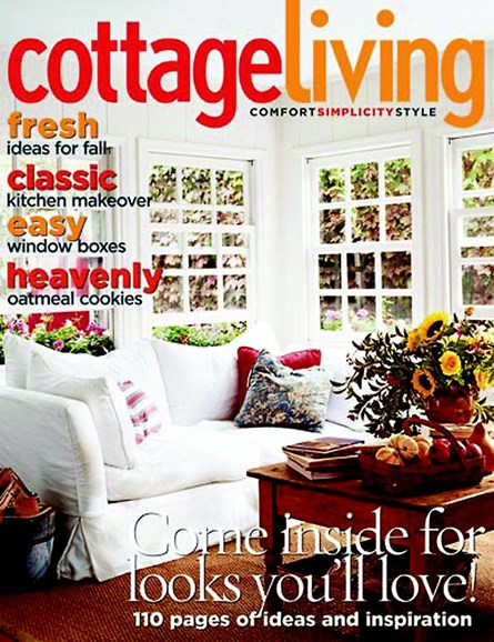 Cottage Living Cover - 10/1/2004