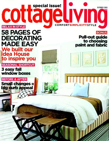 Cottage Living Cover - 10/1/2005