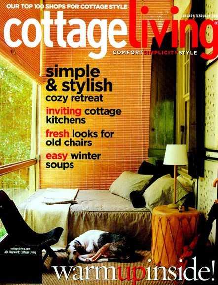 Cottage Living Cover - 2/1/2006