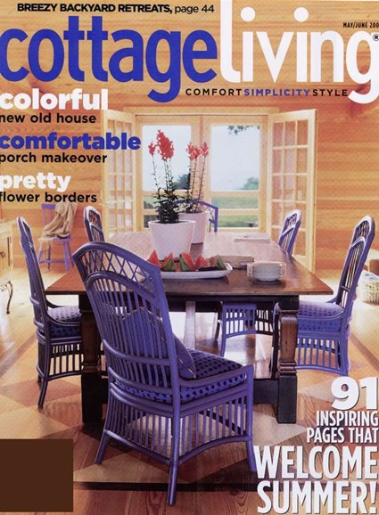 Cottage Living Cover - 5/1/2006