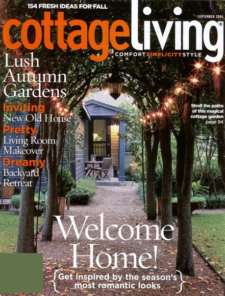 Cottage Living Cover - 9/1/2006