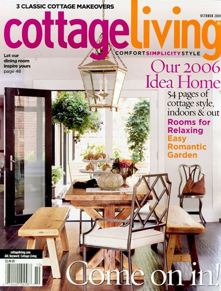 Cottage Living Cover - 10/1/2006