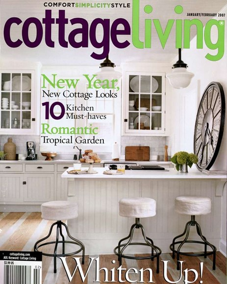 Cottage Living Cover - 2/1/2007