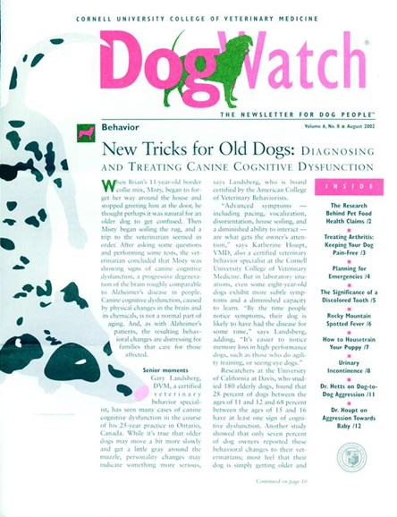 Dogwatch Cover - 8/1/2002