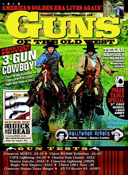 Guns Of The Old West Cover - 7/1/2005