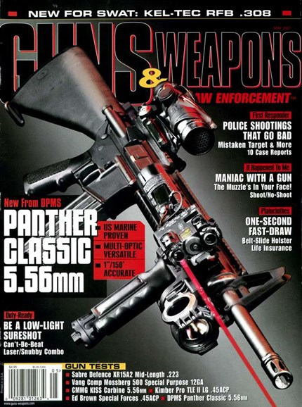 Guns & Weapons For Law Enforcement Cover - 5/1/2007