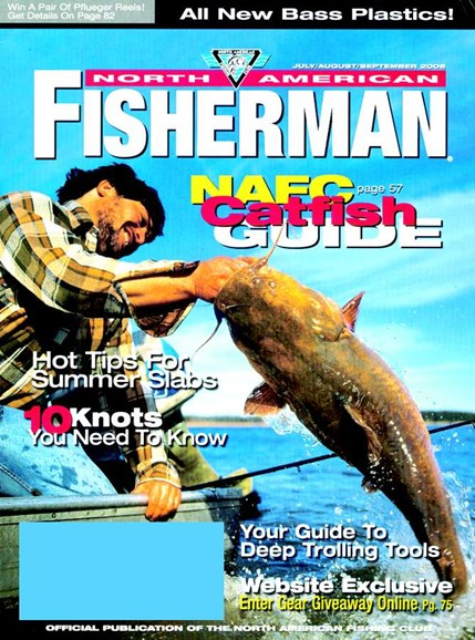 North American Fisherman Cover - 9/1/2005