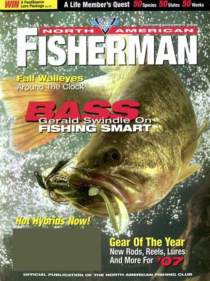 North American Fisherman Cover - 11/1/2006