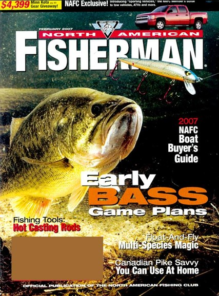 North American Fisherman Cover - 2/1/2007