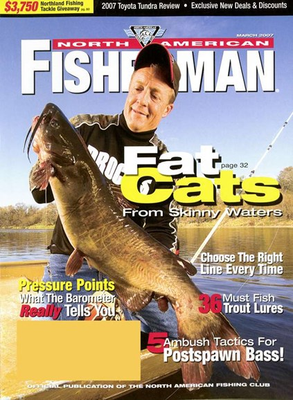 North American Fisherman Cover - 3/1/2007