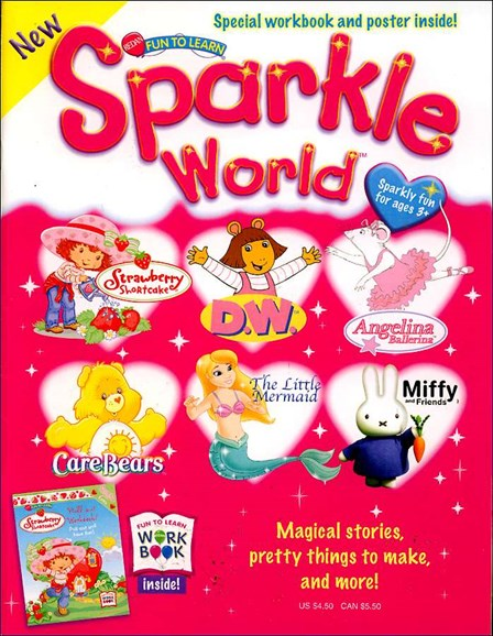 Sparkle World Cover - 1/1/2005
