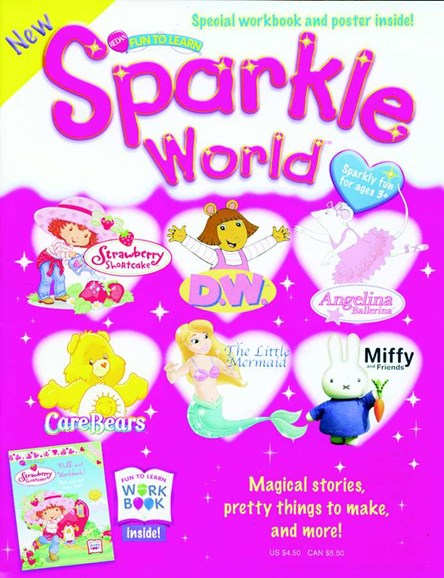 Sparkle World Cover - 6/1/2005