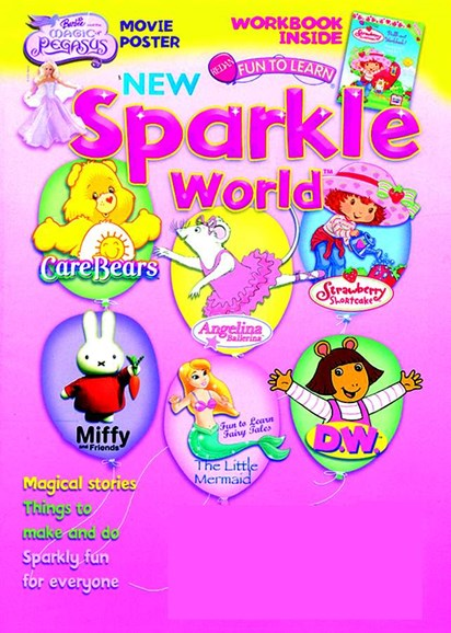 Sparkle World Cover - 10/1/2005