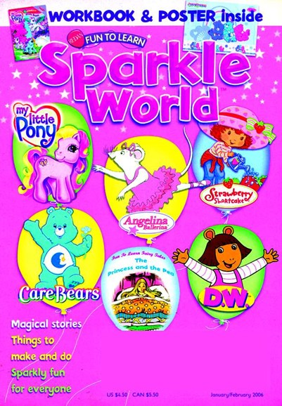 Sparkle World Cover - 2/1/2006