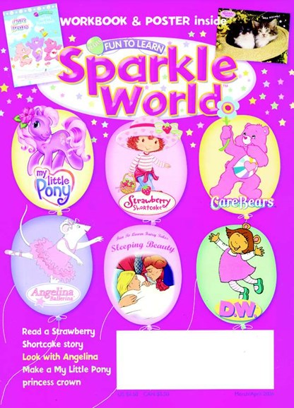 Sparkle World Cover - 4/1/2006