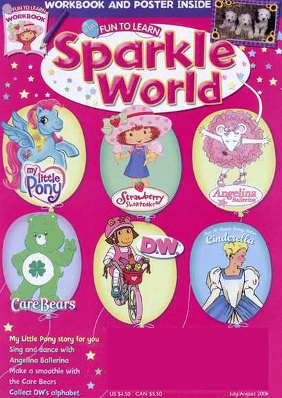 Sparkle World Cover - 8/1/2006