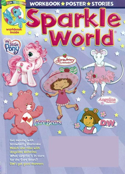 Sparkle World Cover - 10/1/2006