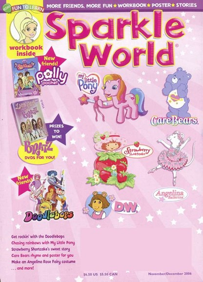 Sparkle World Cover - 12/1/2006