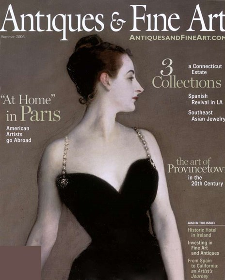 Antiques & Fine Art Cover - 8/1/2006