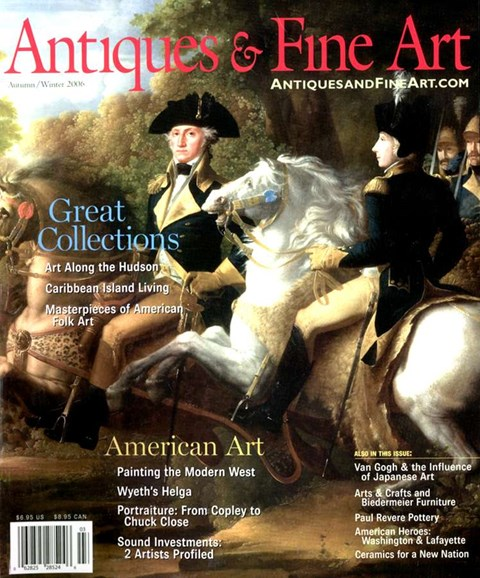 Antiques & Fine Art Cover - 11/1/2006