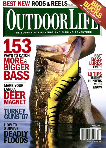 Outdoor Life Cover - 4/1/2007