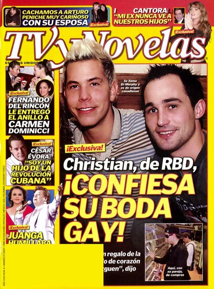 Tv Y Novelas Cover - 3/14/2007