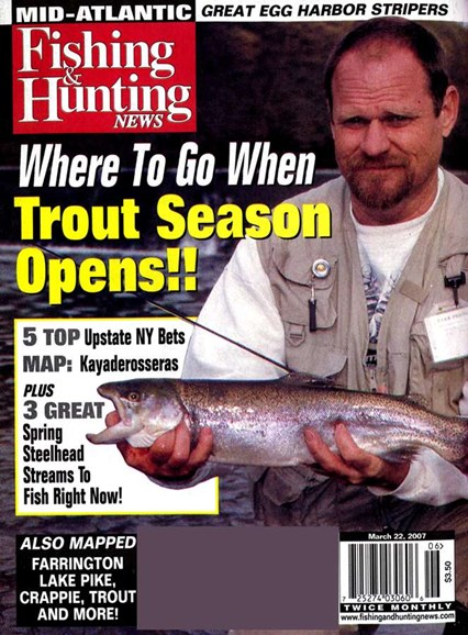Fishing & Hunting News Cover - 3/14/2007
