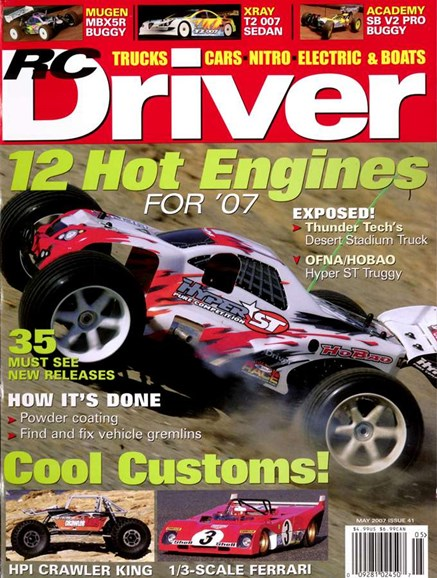 RC Driver Cover - 5/1/2007