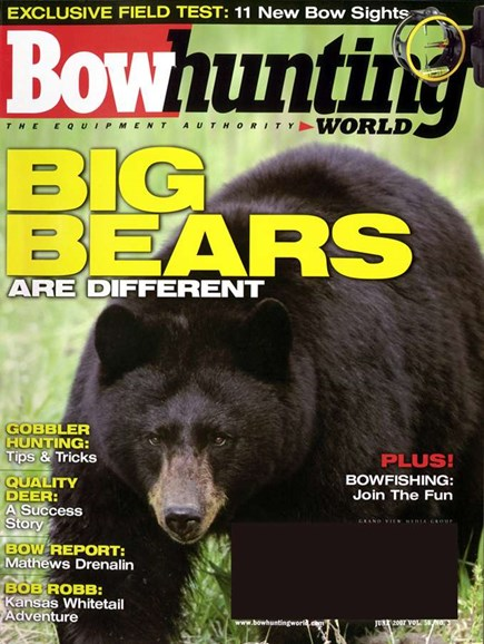 Bowhunting World Cover - 6/1/2007