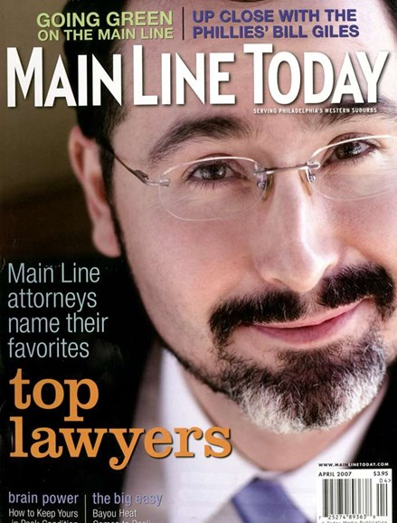 Main Line Today Cover - 4/1/2007