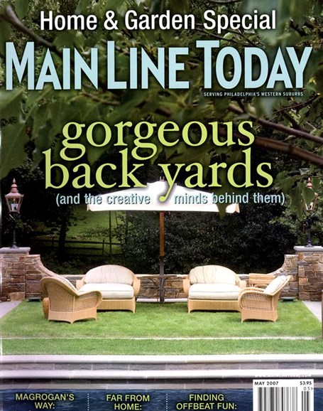 Main Line Today Cover - 5/1/2007
